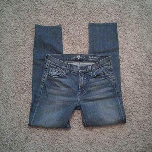 7FAM high waist Roxanne skinny jeans